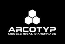 Logo ARCOTYP Modèle idéal d'archivage