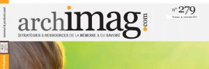 ARCHIMAG n°279 - Novembre 2014