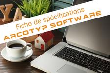 Téléchargez les spécifications techniques et fonctionnelles d'ARCOTYP Software, logiciel d'archivage mixte