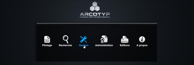 ARCOTYP Software, logiciel d'archivage mixte