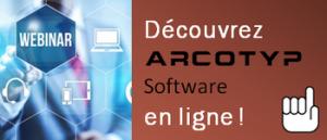 Découvrez ARCOTYP Software lors d'un prochain webinar AT2O.